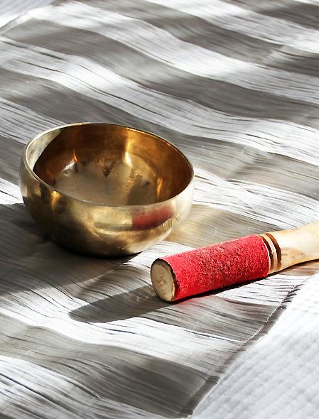 Massage Stempel mit Kupferschale